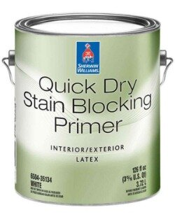 Sherwin-Williams Quick Dry Stain Blocking Primer Int/Ext / Шервин Вильямс Квик Драй Стейн Блокин Праймер ИНт/Экст грунтовка