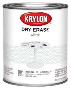 Sherwin Williams Krylon Dry-Erase / Шервин Вильямс Крылон Драй-Ираз маркерная краска