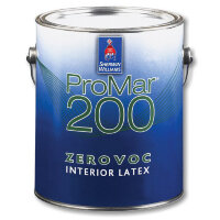 Sherwin-Williams ProMar 200 Interior Latex Flat Low Voc / Шервин Вильямс ПроМар 200 Интериор Латекс Флат Лоу Вок