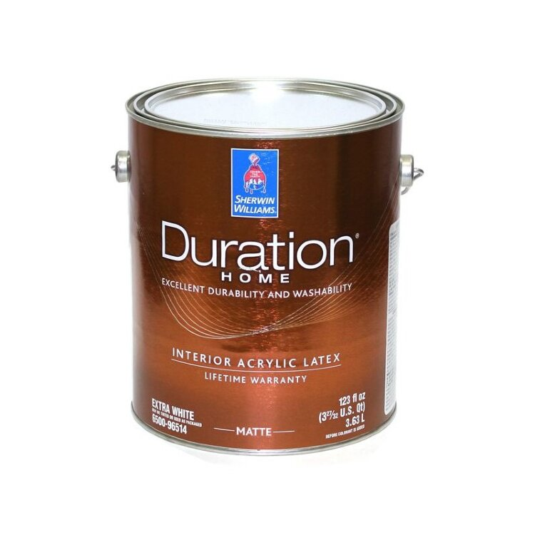 Sherwin-Williams Duration Home Interior Latex Satin Low Voc / Шервин Вильямс Дюрешн Хоум Интериор Латекс Сатин Лоу Вок