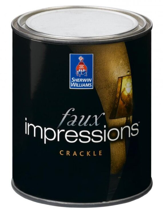 Sherwin-Williams faux Impressions Crackle / Шервин Вильямс фаукс Импрешенс Кракл