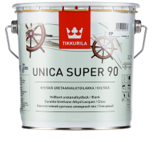 Tikkurila Unica Super 90 / Тиккурила Уника Супер 90 яхтный лак