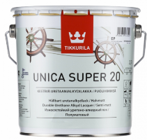 Tikkurila Unica Super 20 / Тиккурила Уника Супер 20 яхтный лак